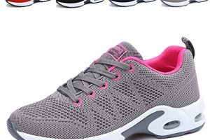 JARLIF Women's Breathable Tennis Shoes