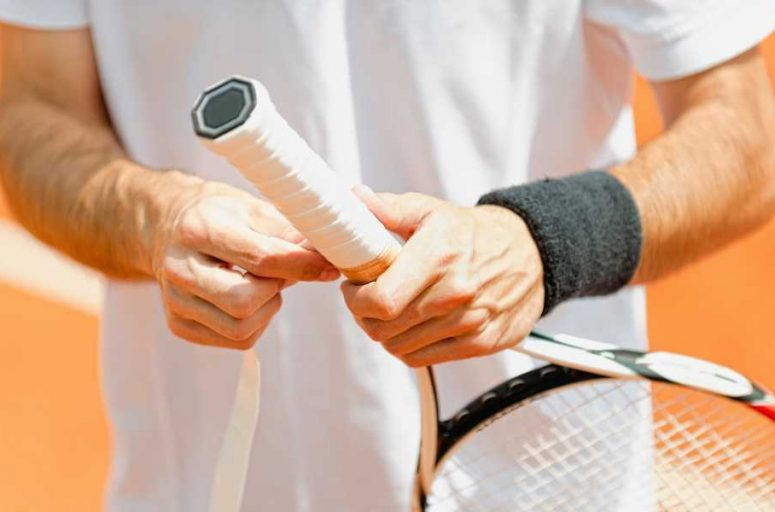 How to Wrap a Tennis Grip