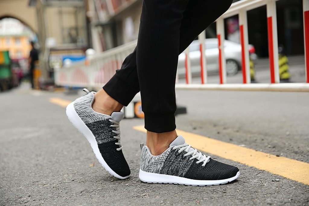 Are running shoes good for walking on concrete
