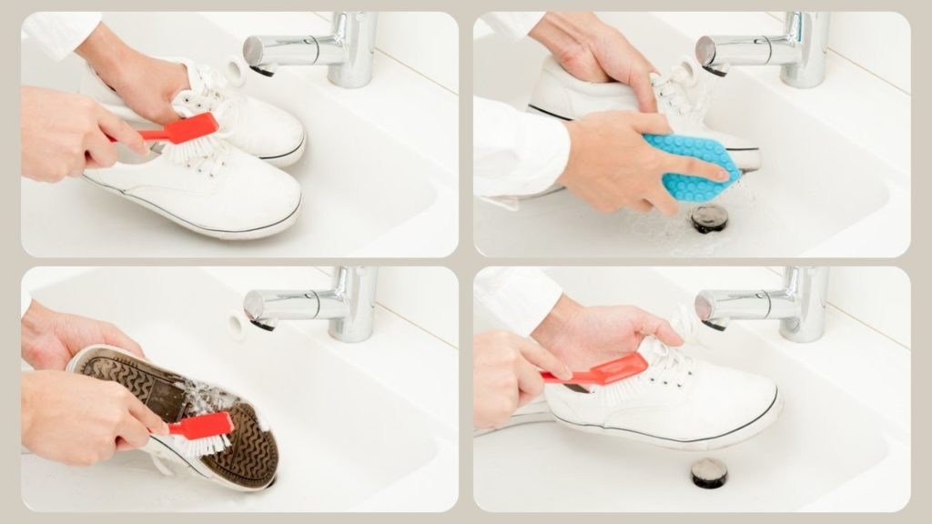 How to Wash Tennis Shoes or Sneakers by Hand
