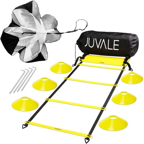 Juvale Speed and Agility Ladder Training Set